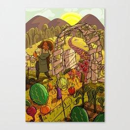 Fully Grown Canvas Print