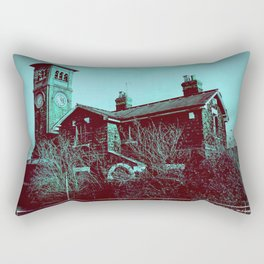 Scary Station Rectangular Pillow