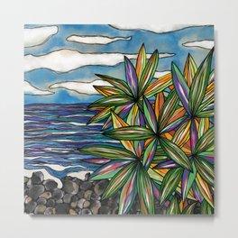 Bargara Beachscape Metal Print