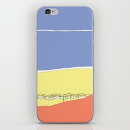 Primary Beach iPhone Skin
