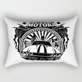 East Coast Motors Rectangular Pillow