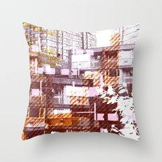 City scape I Throw Pillow