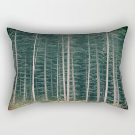 The Forest Has Me Rectangular Pillow