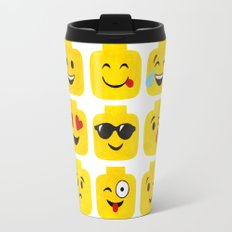 Emoji-Minifigure Travel Mug