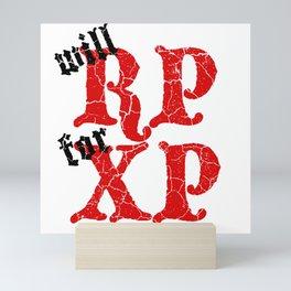 D20 Will RP for XP Mini Art Print