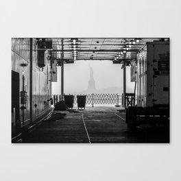 "Liberty thru ""The Boat"" Canvas Print"