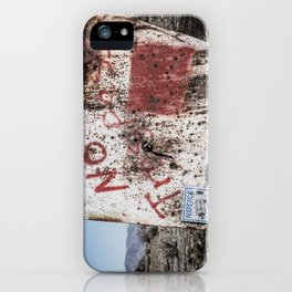 No Trespassin' in the Desert iPhone Case