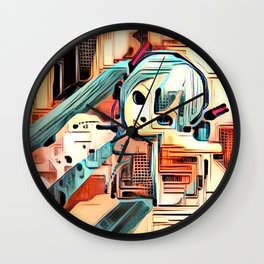 The Sentient Ship Wall Clock