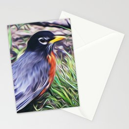 Red Breast Stationery Cards