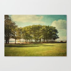 coming into fall landscape Canvas Print