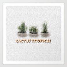 Cactus Tropical Art Print
