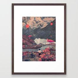 My Choices left me Alone Framed Art Print