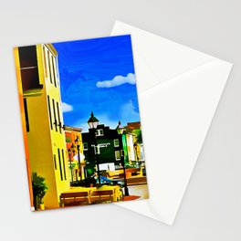 Fells Point Square, Baltimore, Maryland Stationery Cards