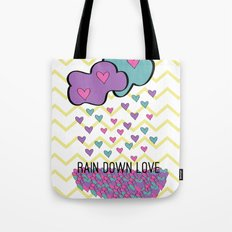 Rain Down Love Tote Bag