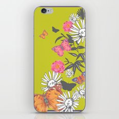Flutterbies iPhone & iPod Skin