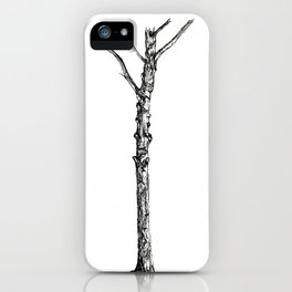 Tree and Shadow iPhone Case