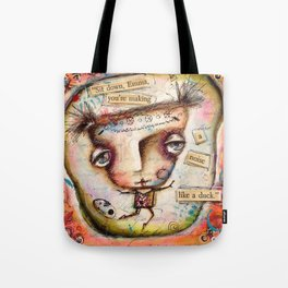 Sit Down, Emma Tote Bag