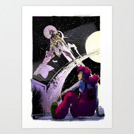 Space Travel (C) Art Print