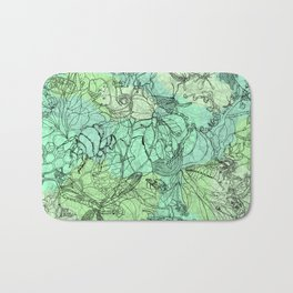 Insects Bath Mat