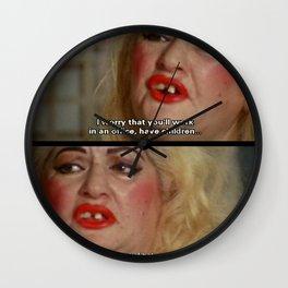 Heterosexual Wall Clock