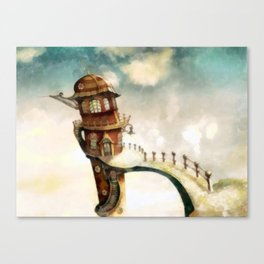 The Peculiar Tenants Canvas Print