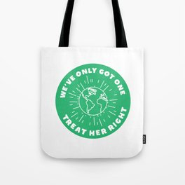 Treat Your Mother Right Tote Bag