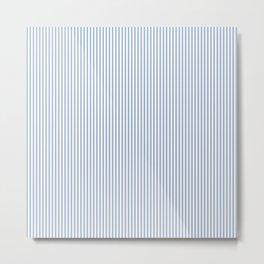 WB Blue Lines Metal Print