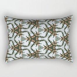 Desert Christmas Rectangular Pillow