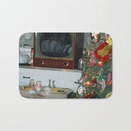 Old Time Christmas Bath Mat
