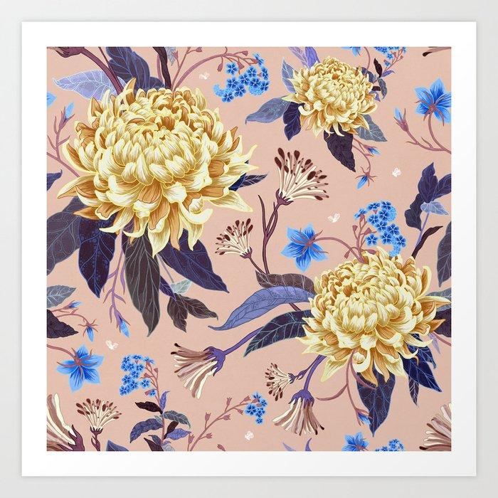 Florals in Spring Art Print