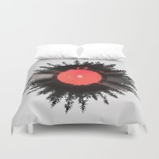 The vinyl of my life Duvet Cover