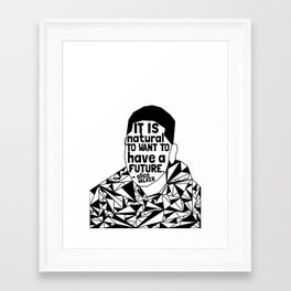 Tamir Rice - Black Lives Matter - Series - Black Voices Framed Art Print