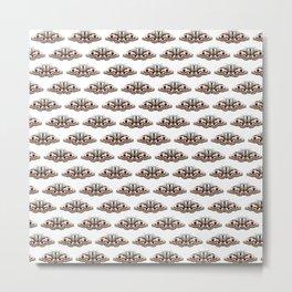 White moths Metal Print