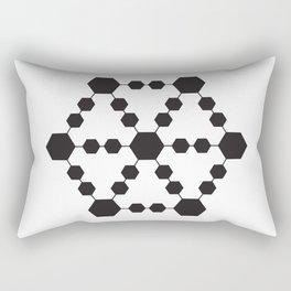 Jugglers Metatron Black Rectangular Pillow