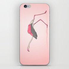 Running Flamingo iPhone & iPod Skin
