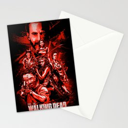 The Walking Dead Poster Stationery Cards