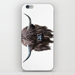 Scottish Highland Cow iPhone Skin