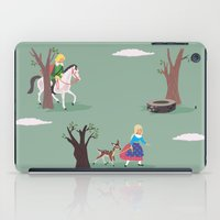 fairy tale iPad Cases featuring fairy tale by notbook