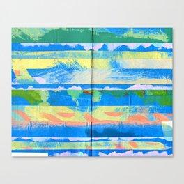 Tape Diary 6 Canvas Print