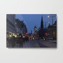 Princes Street Edinburgh 2 Metal Print
