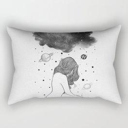 I prefer night. Rectangular Pillow