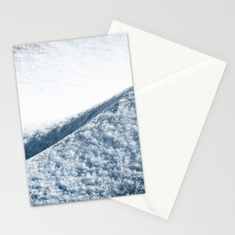 Abstract Snow Drift - 104/365 Nature Photography Stationery Cards