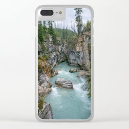 Marble Canyon 2 Clear iPhone Case