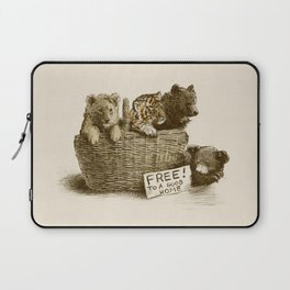Lions and Tigers and Bears Laptop Sleeve