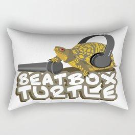 BeatBoxTurtle Rectangular Pillow