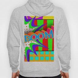 Kaboom Pop Art Explosion Hoody