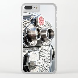 New York 19 Clear iPhone Case