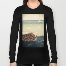 Boat and Yacht Long Sleeve T-shirt