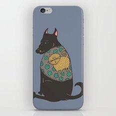 Black Dog in a Kitten Coat iPhone & iPod Skin