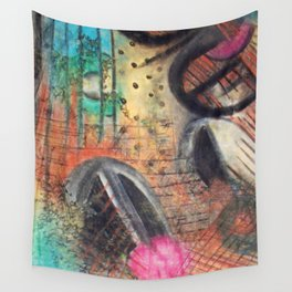 Abstract Art Wall Tapestry